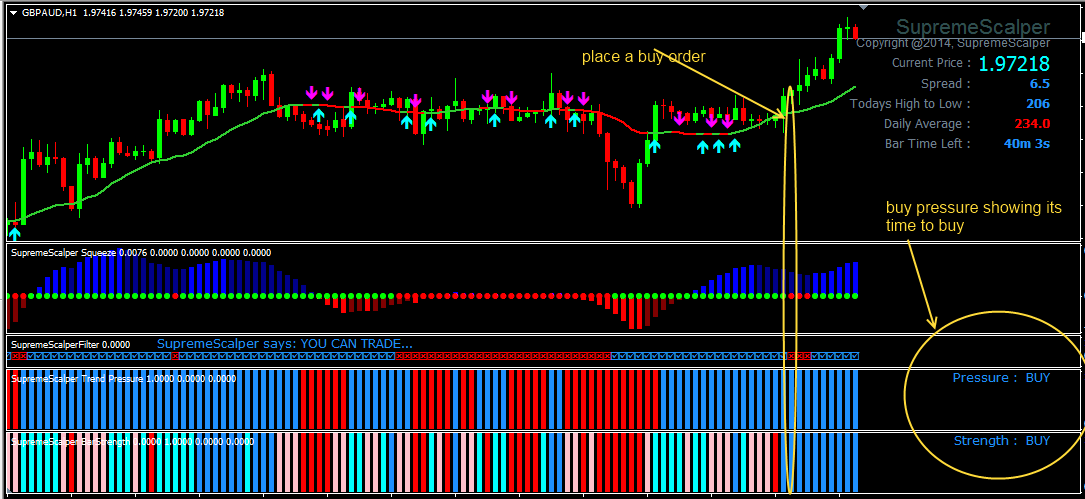 Scalper trade forex