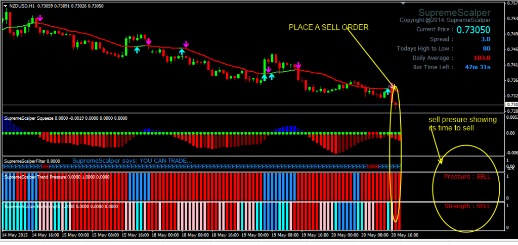 How to place a forex order