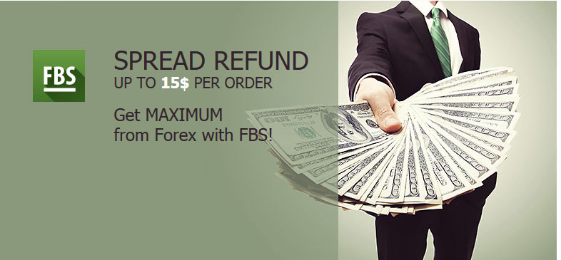 fbs forex broker spread refund